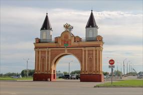 канск, города, - исторические,  архитектурные памятники, арка