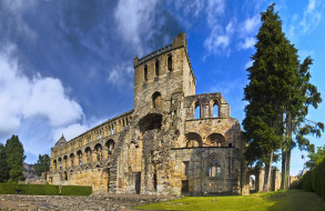abad&, 237, a agustinista,  jedburgh, города, - католические соборы,  костелы,  аббатства, храм