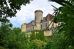 aquitaine - p&, 233, rigord - france, города, замки франции, замок