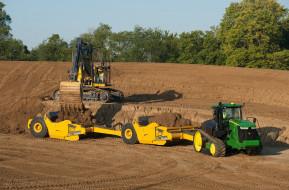 техника, тракторы на гусенецах, трактор