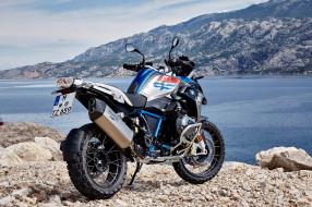 мотоциклы, bmw, r1200gs, rallye, на, фоне, гор