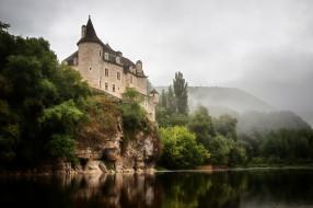 города, - дворцы,  замки,  крепости, замок, река