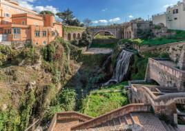 valle dell`aniene,  tivoli, города, - панорамы, простор