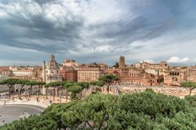 rome,  italy, города, рим,  ватикан , италия, панорама