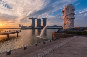 singapore awakening, города, сингапур , сингапур, набережная
