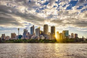 sydney, города, сидней , австралия, рассвет
