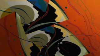 векторная графика, графика , graphics, линии, формы, абстракция, холст, цвет