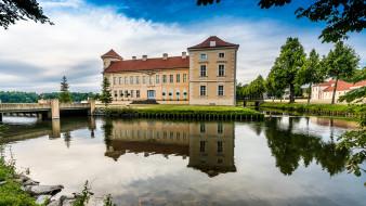 rheinsberg palace, города, - дворцы,  замки,  крепости, дворец, парк