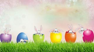 праздничные, пасха, кролики