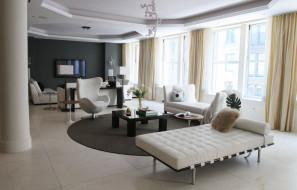 интерьер, гостиная, диван, стол, комната