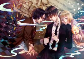 аниме, 91 days, персонажи