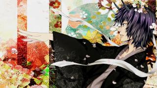 аниме, natsume yuujinchou, парень
