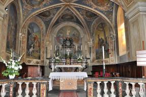 интерьер, убранство,  роспись храма, костел