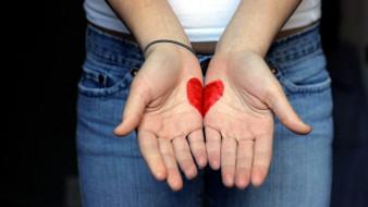 разное, руки, сердечко