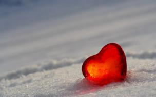 разное, - другое, лёд, холод, снег, сердце