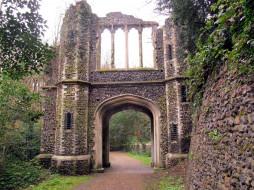 ворота, каменные