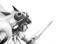 аниме, mononoke hime, принцесса