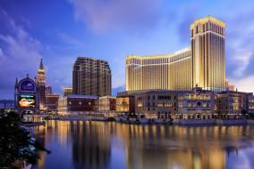venetian hotel and casino,  cotai,  macau, города, макао , китай, небоскребы