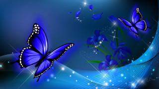 векторная графика, животные , animals, фон, бабочки
