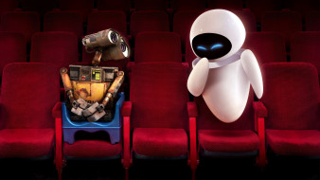 кресла, Валли, Ева, роботы, кинотеатр