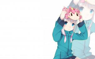 аниме, unknown,  другое, фон, взгляд, девушка
