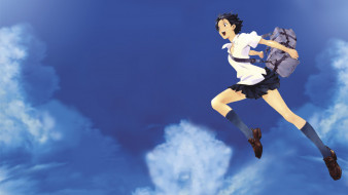 the girl who leapt through time, аниме, toki wo kakeru shoujo, фон, взгляд, девушка