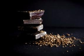 еда, конфеты,  шоколад,  сладости, шоколадная, стружка