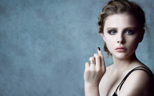 кольца, актриса, Хлоя Грейс Моретц, лицо