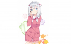 аниме, eromanga-sensei, kawaii, bear, blush, anime, manga, japanese, sugoi, bishojo, kuma, mussune, sagiri, izumi, megumi, jinno, masamune