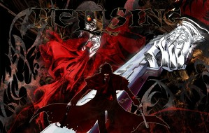 аниме, hellsing, шакал, пистолет, оружие, vampire, алукард, вампир, дракула, alucard, dracula