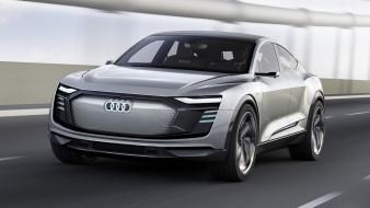 Audi E- tron Sportback Concept 2017 обои для рабочего стола 2276x1280 audi e- tron sportback concept 2017, автомобили, audi, e-, tron, sportback, concept, 2017