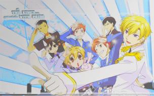 ouran high school host club, аниме, персонажи