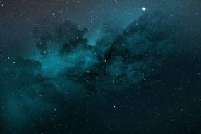 галактика, звезды, облако, туманность
