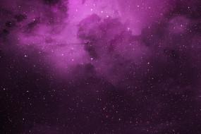 галактика, облако, туманность, звезды