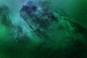 звезды, туманность, галактика, облако