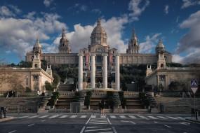museo nacional de arte de catalu&, 241, города, барселона , испания, музей