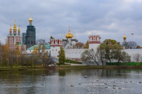 города, - православные церкви,  монастыри, россия, богородице-смоленский, новодевичий, монастырь, москва