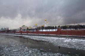 города, москва , россия, московский, кремль, москва, москва-река