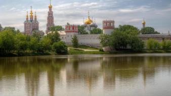 города, - православные церкви,  монастыри, богородице-смоленский, монастырь, москва, новодевичий