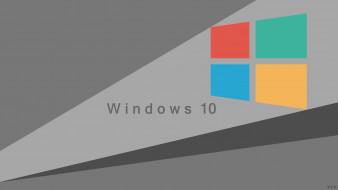 обои для рабочего стола 2560x1440 компьютеры, windows  10, фон, логотип