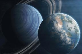 кольча, коллаж, космос, планета