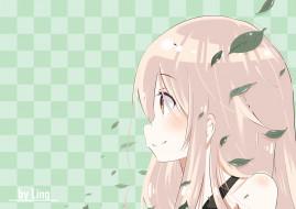 аниме, urara meirochou, фон, взгляд, девушка
