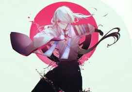 аниме, touken ranbu, ima-no-tsurugi
