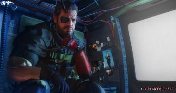 видео игры, metal gear solid v,  the phantom pain, униформа, взгляд, фон, мужчина