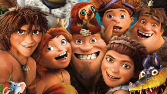the croods, мультфильмы, персонажи