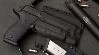 оружие, пистолеты, p220, sig, sauer, самозарядный, пистолет