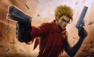 аниме, the $$60 billion man, the, 60, billion, man, vash, stampede, gunslinger