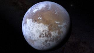 Ледяная планета Марс