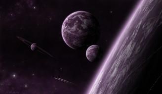 галактика, звезды, планеты, вселенная, звезды