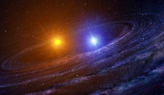 звезды, космос, вселенная, арт